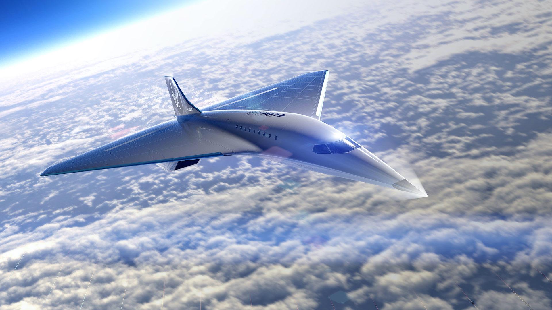 Voyagera-t-on un jour à Mach 3 dans cet avion supersonique de Virgin ?
