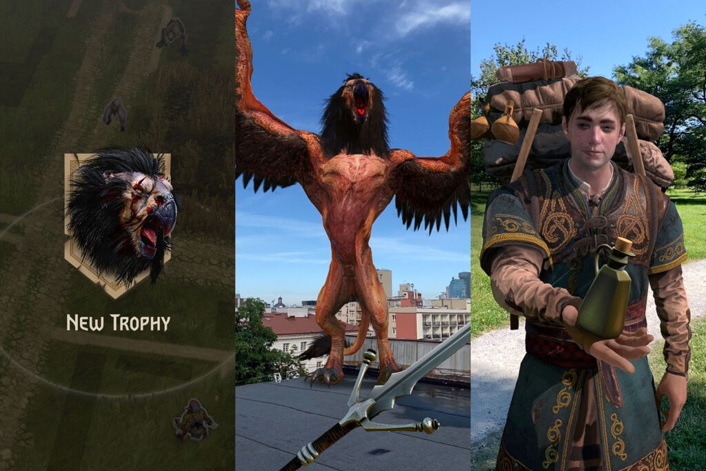 interface tw monster slayer 1024x683 - The Witcher is coming to Android and iOS in an augmented reality game
