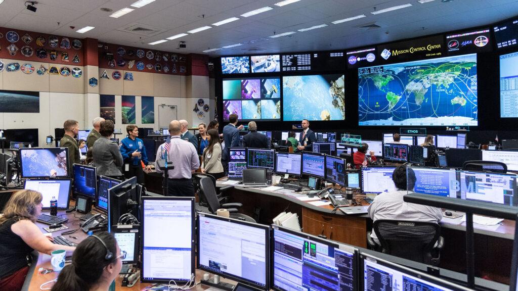 Centre de contrôle de mission