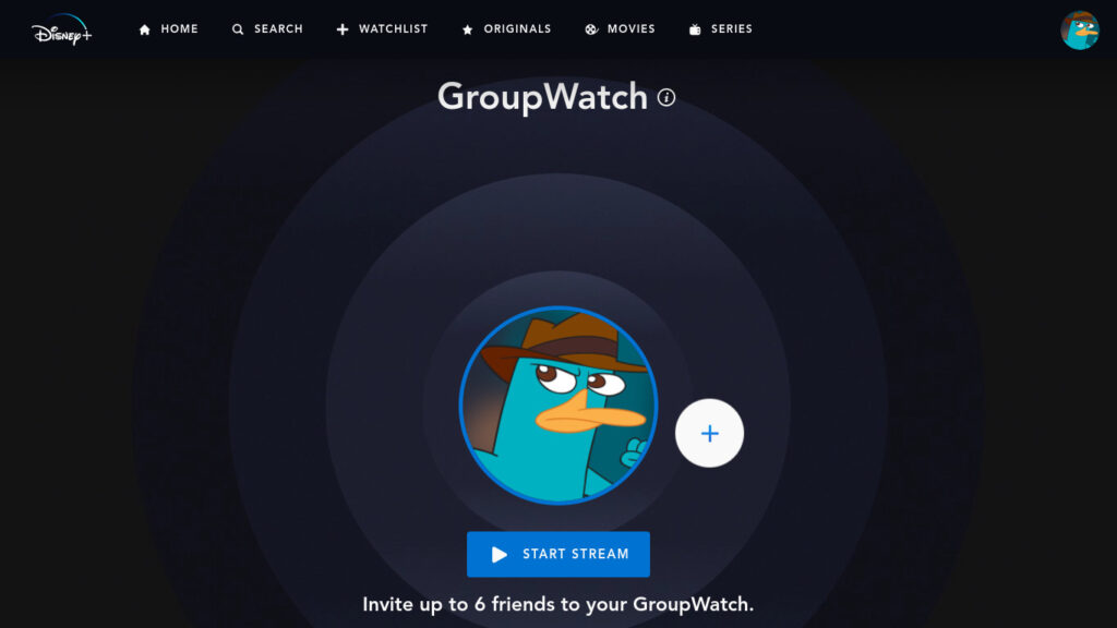 GroupWatch Disney+