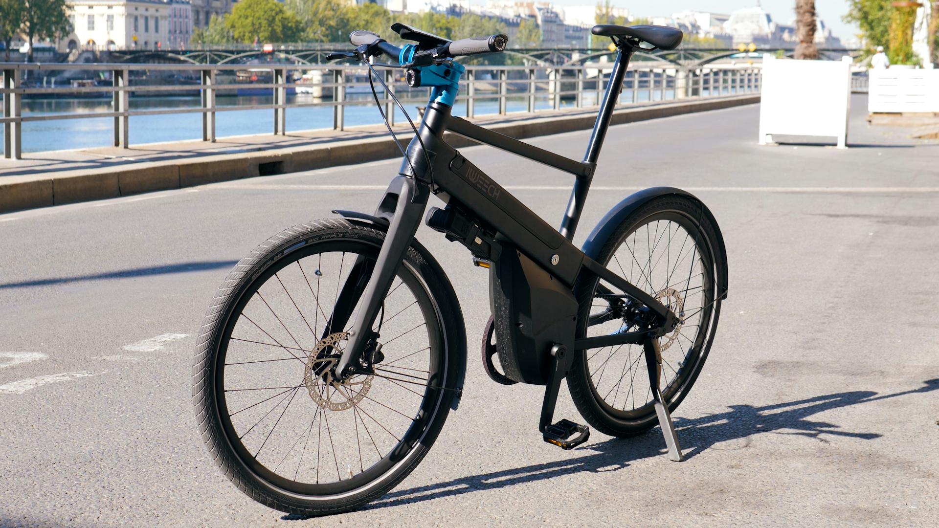 Test du iweech : enfin un bon vélo électrique intelligent