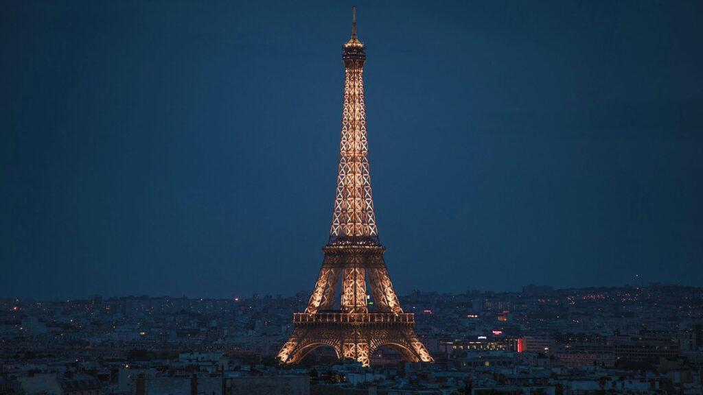 Paris France tour Eiffel