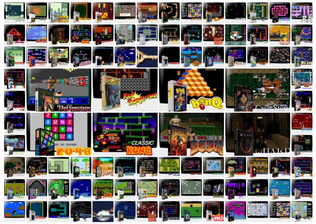 Recalbox 7 jeux
