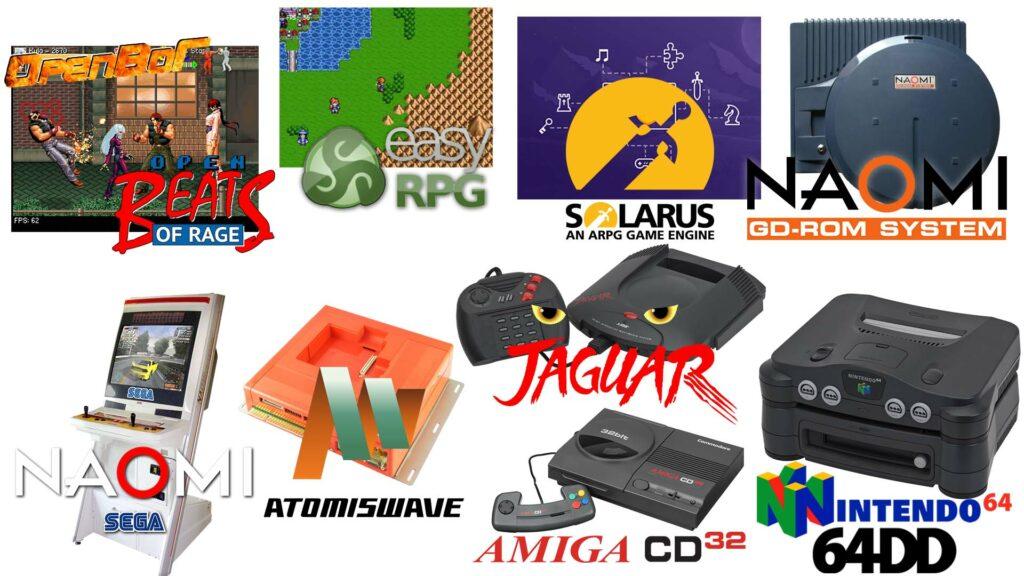 Recalbox 7 systèmes
