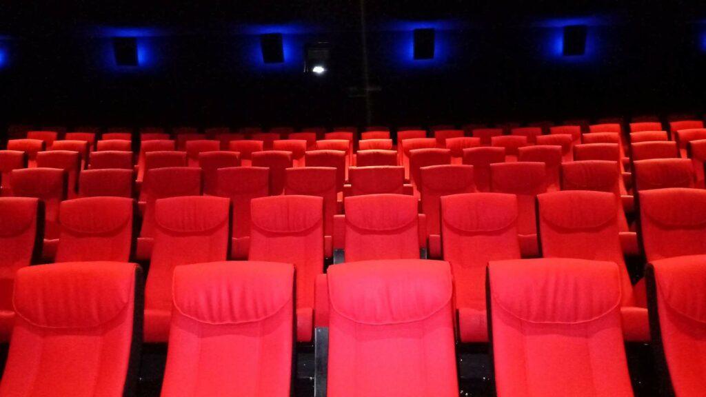 Salle de cinéma fauteuils