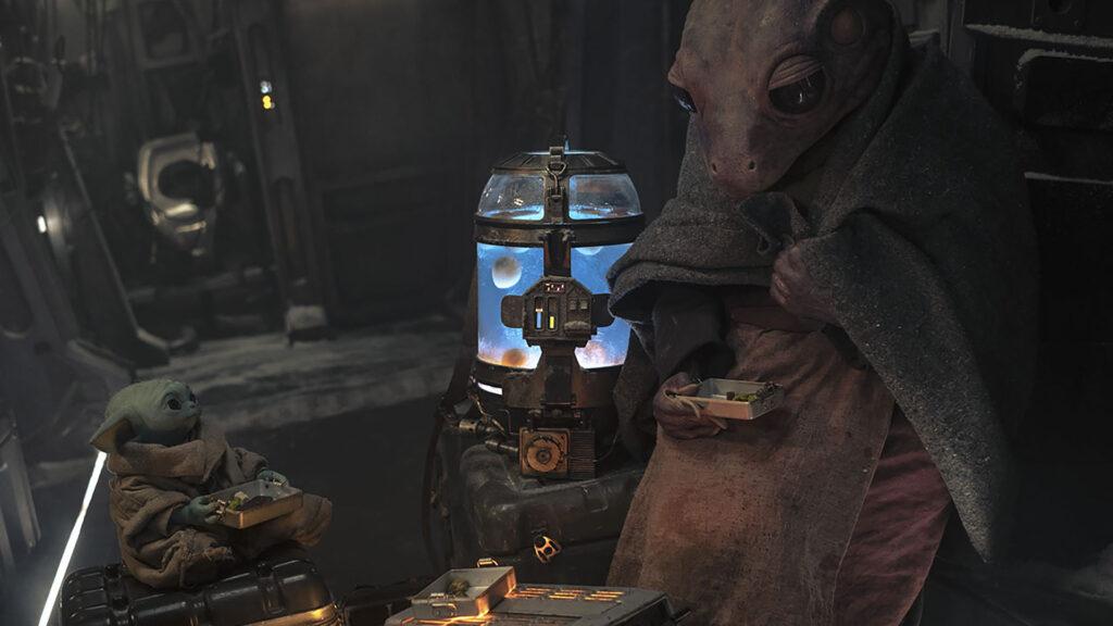 The Mandalorian Bébé Yoda