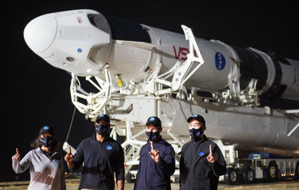 Crew-1 astronautes