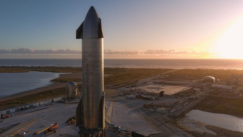 Vaisseau SpaceX SN8