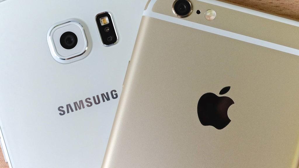 Terminaux Apple Samsung