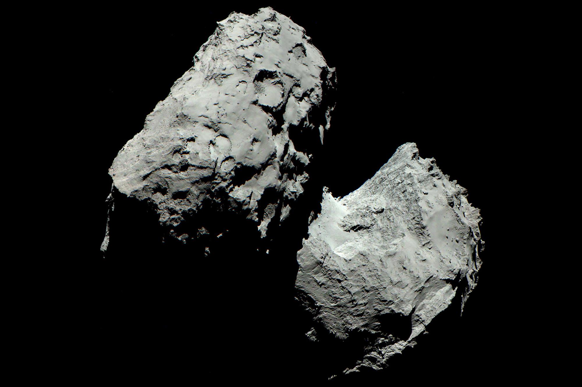 Le carbone de Tchouri nous en apprend plus sur l'apparition de la vie sur Terre