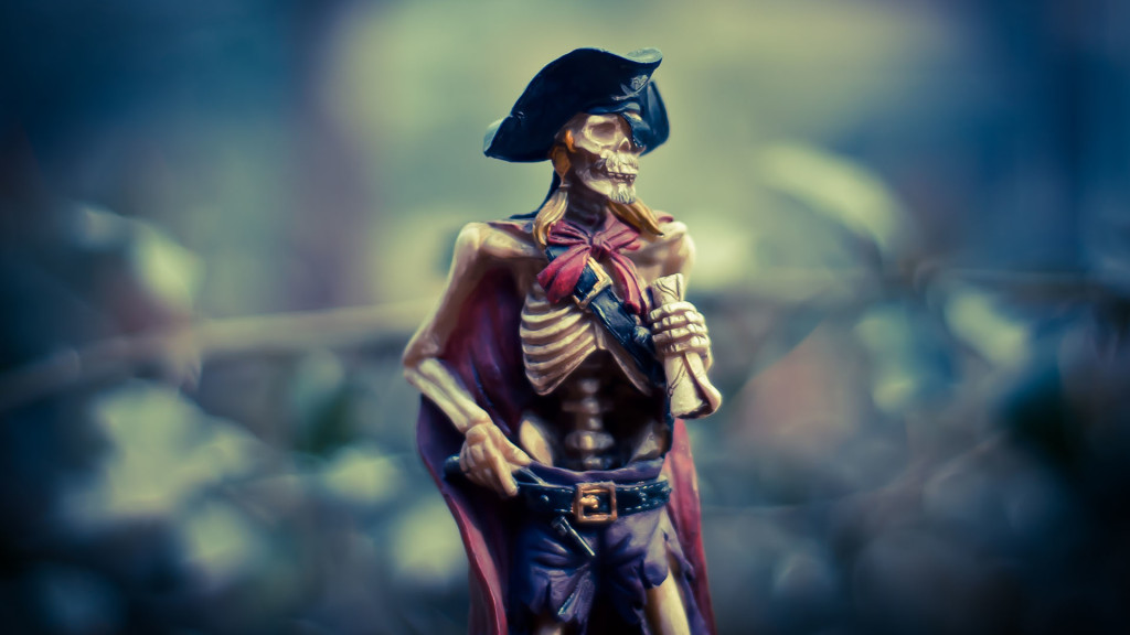 Pirate squelette