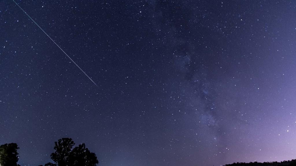 Nuit étoile filante