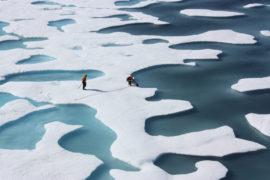 océan glace glacier gel froid