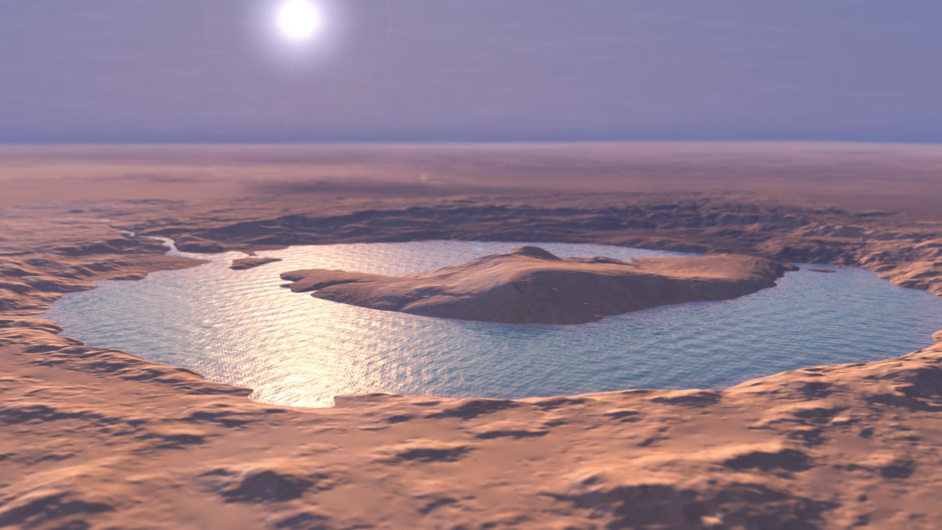 Et s'il y avait de l'eau oxygénée sur Mars ? Une étude change l'idée qu'on  se fait de la vie sur l'astre rouge
