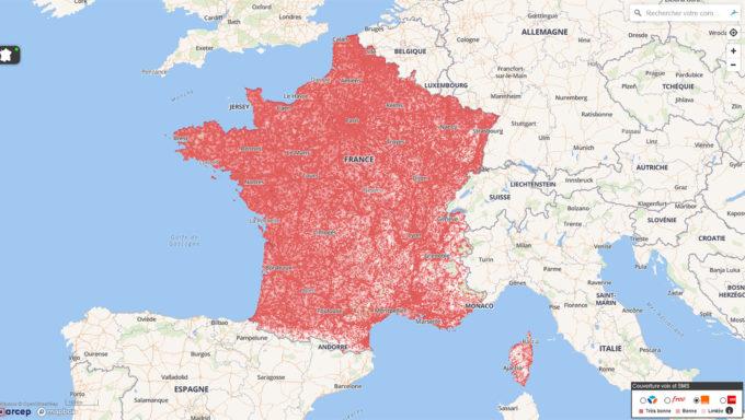 France territoire couverture