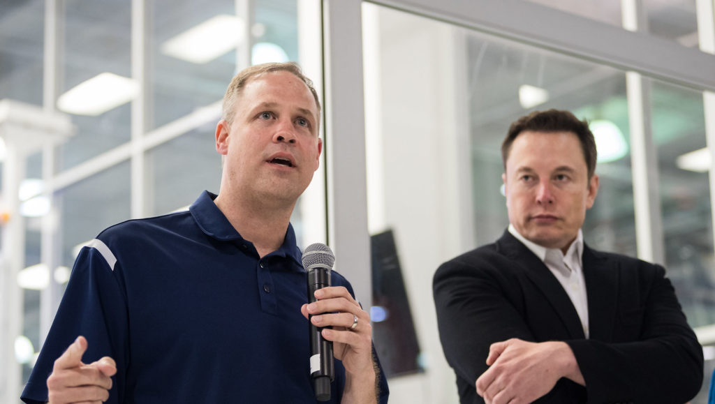 Jim Bridenstine Elon Musk