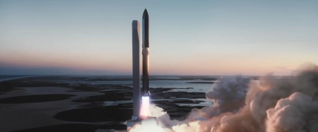Starship CGI