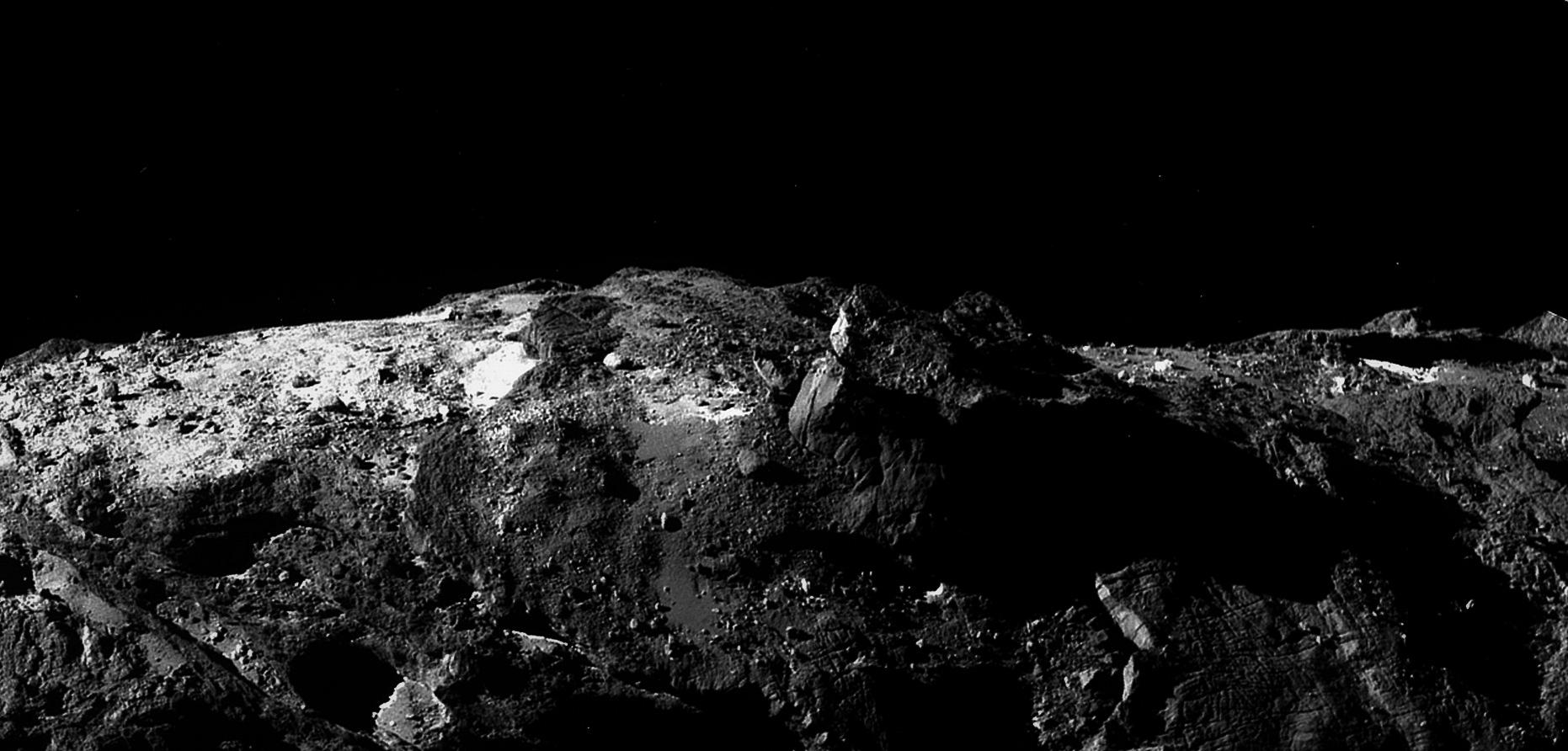 Que nous apprennent les changements de couleur de la comète Tchouri ?