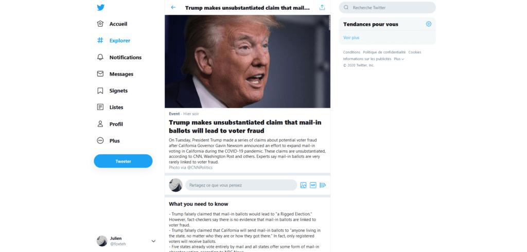 Donald Trump fact check