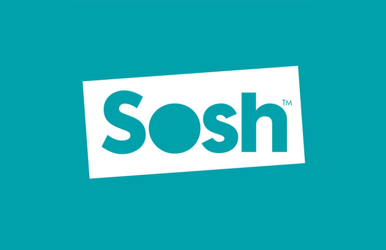 Sosh lance deux nouveaux forfaits mobile en série limitée : 50 Go à 12,99 €/mois et 100 Go à 15,99 €/mois