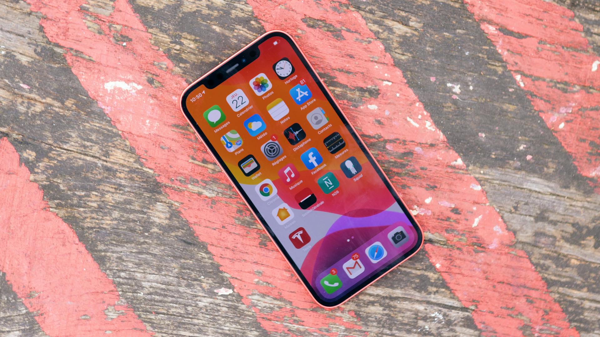 La version 128 Go de l'iPhone 12 est actuellement à son meilleur prix