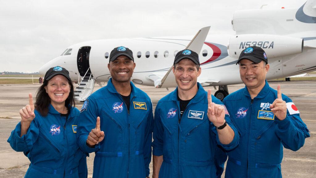 astronautes Crew-1