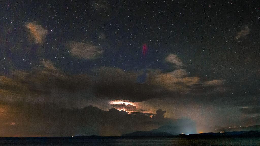 orage tonnerre éclair flash jets