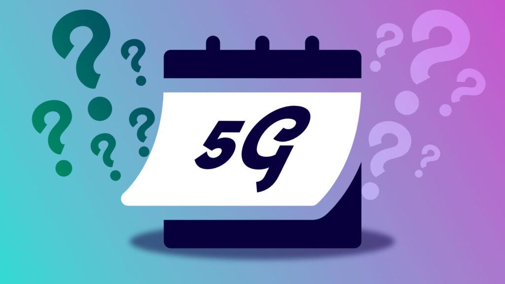 5G calendrier