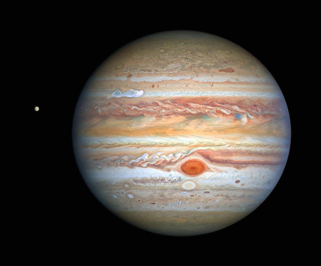 Hubble Europe Jupiter
