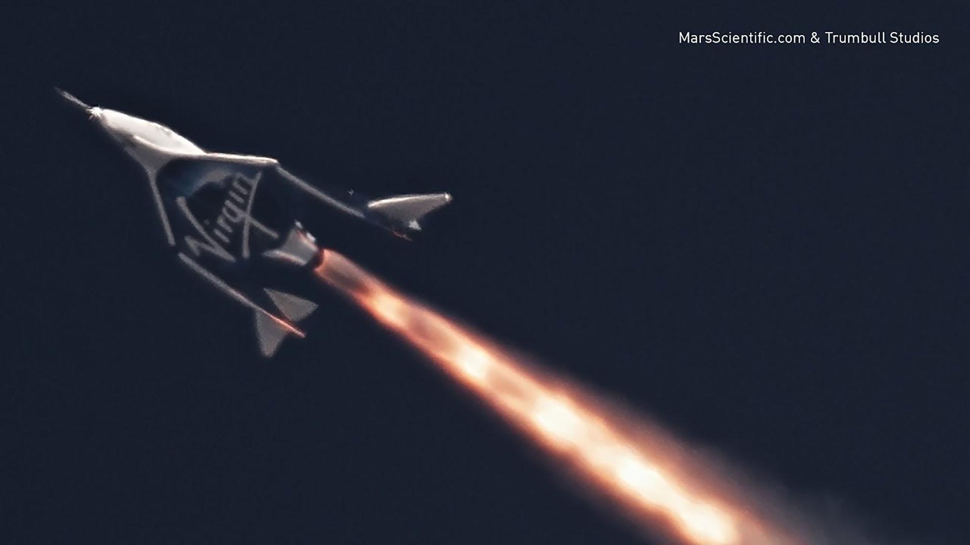 Virgin Galactic est mal parti pour transporter des touristes dans l'espace en 2021 - Numerama