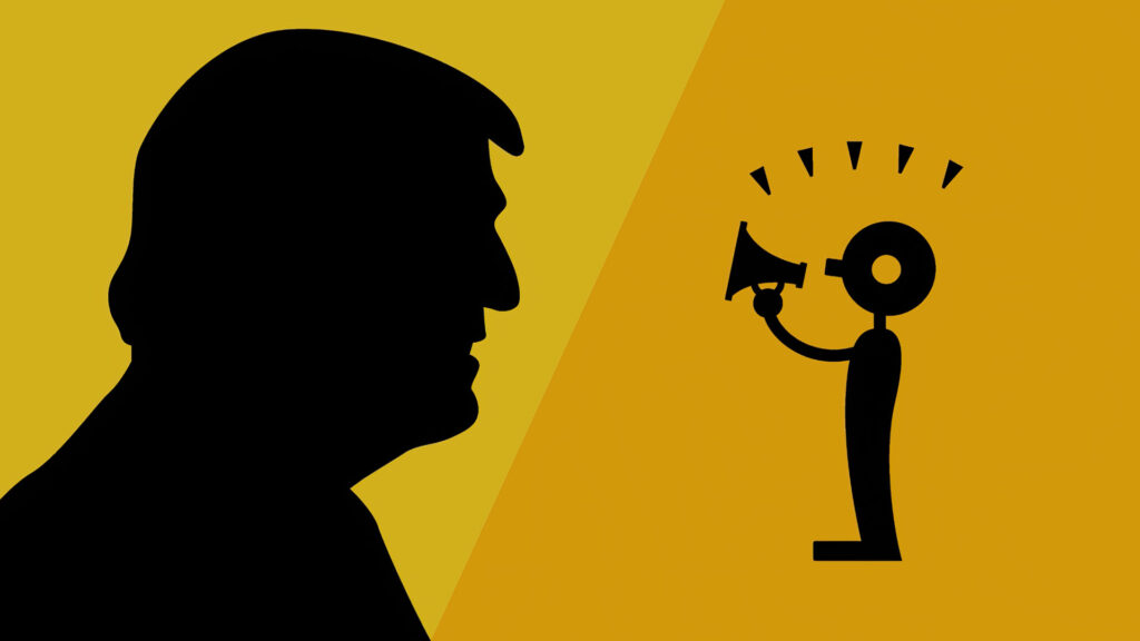Donald Trump liberté d'expression