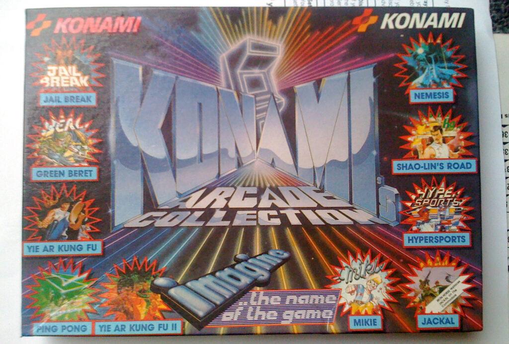 Konami jacquette boîtier