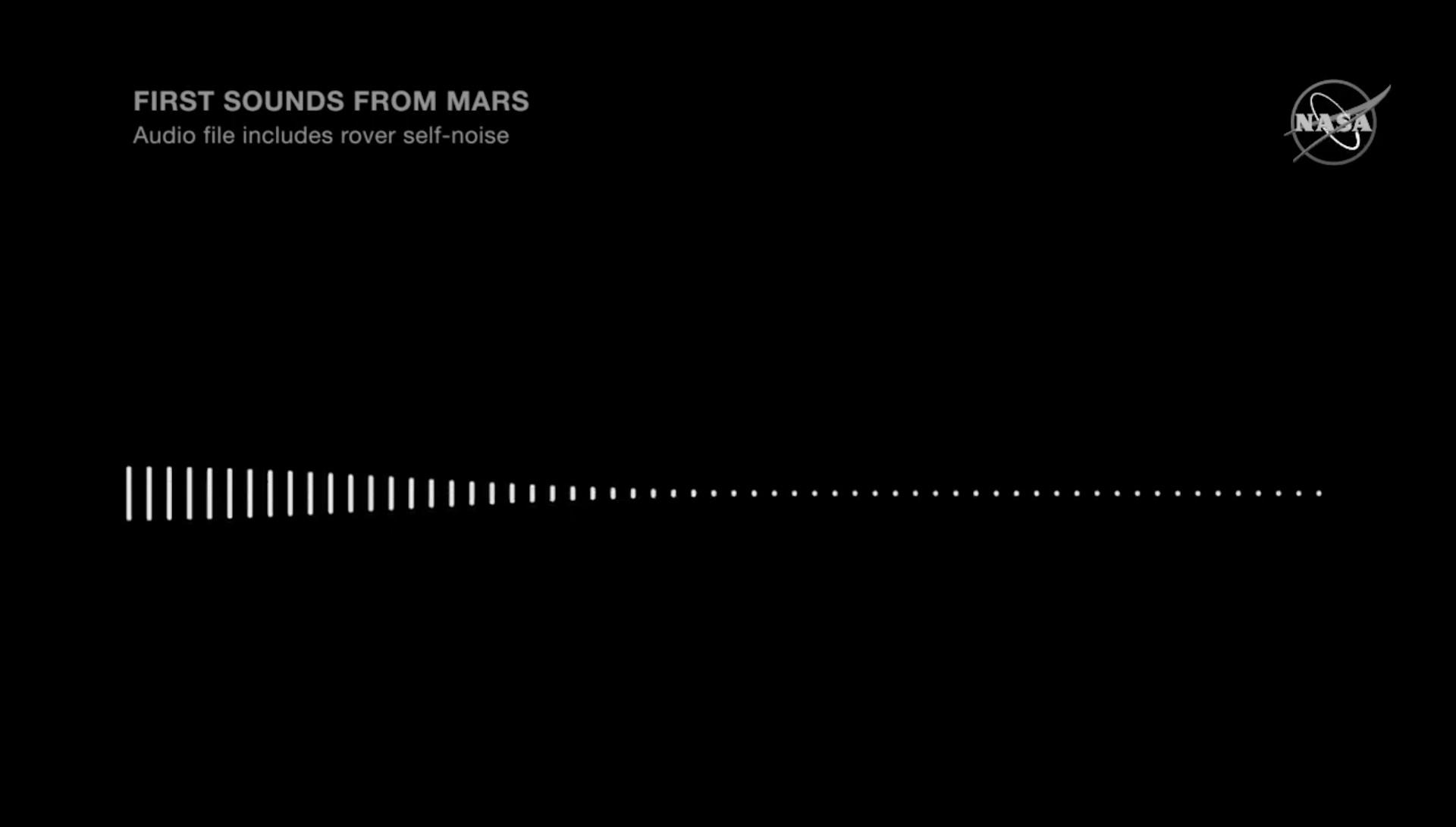 Écoutez le tout premier son jamais enregistré sur Mars - Numerama