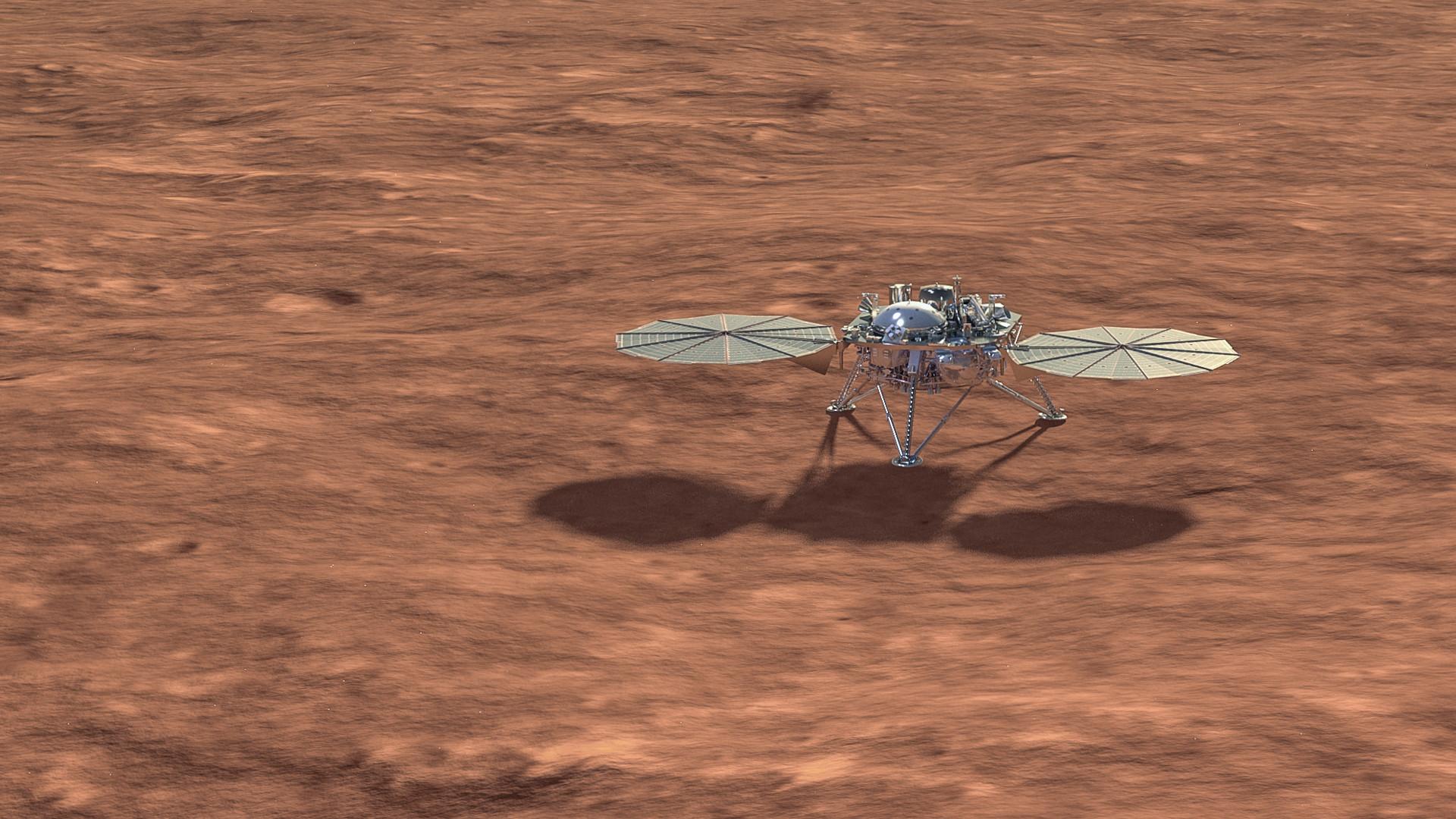 Pourquoi l'activité d'InSight sur Mars va-t-elle être temporairement réduite ? - Numerama