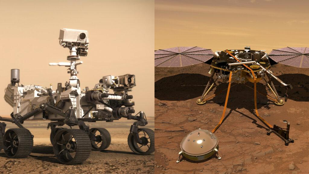 Quelle différence entre les sons sur Mars captés par Perseverance et InSight?