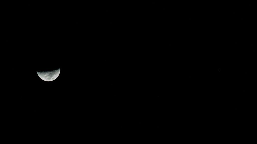 Actualités - 2021 La Lune se rapproche de Mars ce soir