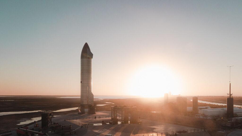 SpaceX Starship SN9 1