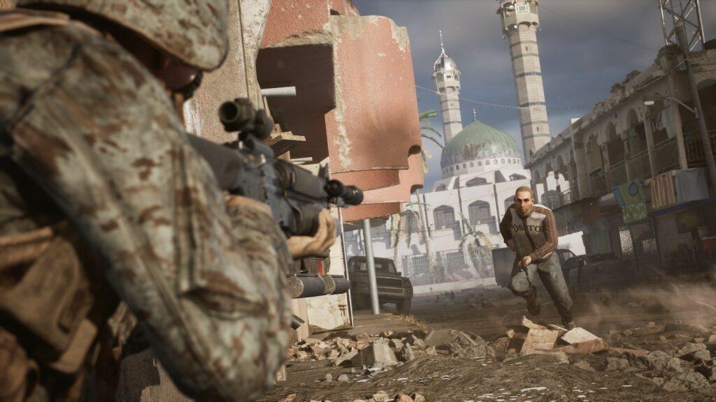 Actualités - 2021 Les créateurs du jeu vidéo sur la guerre en Irak admettent enfin qu'il est «inséparable du politique»