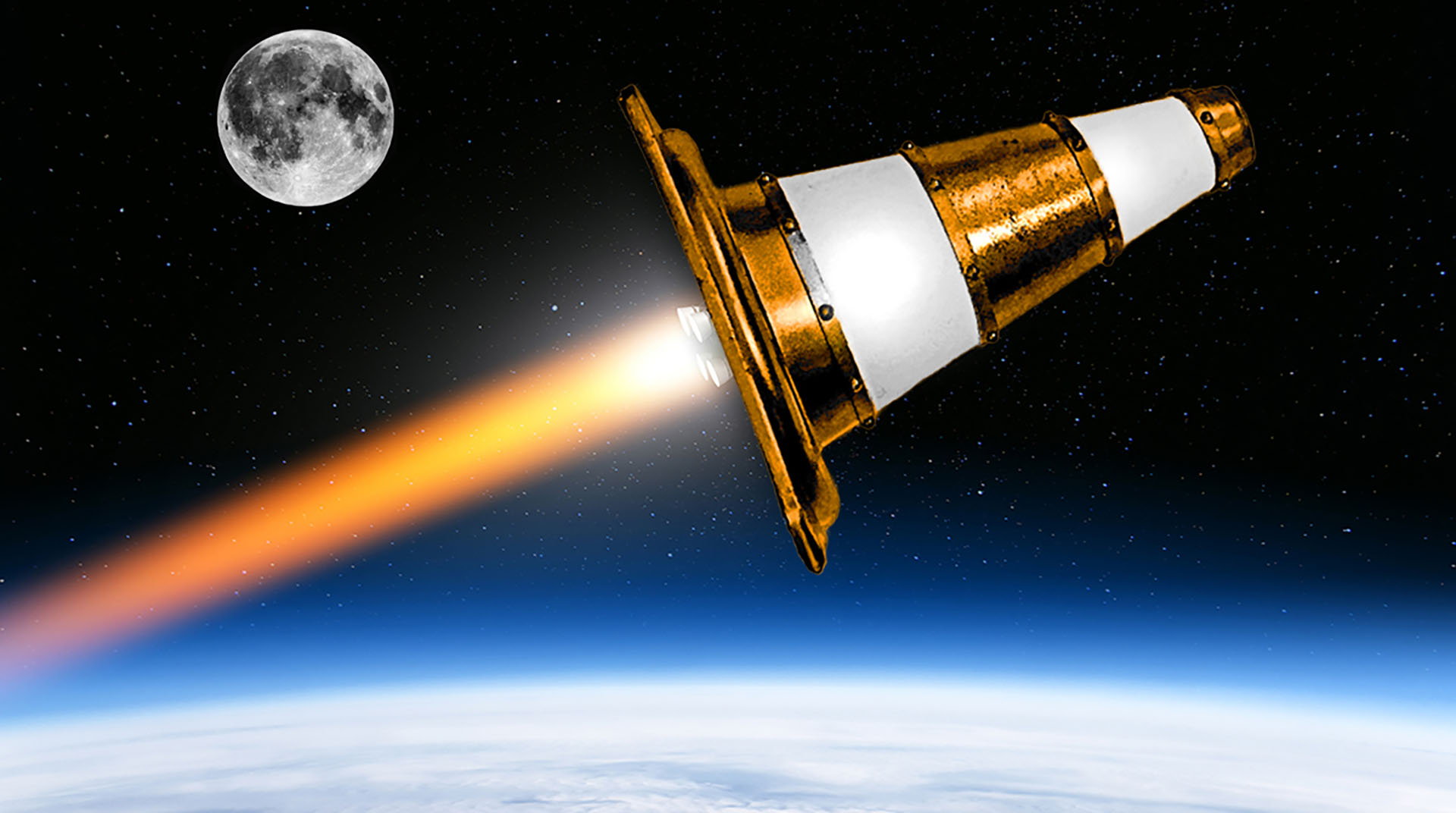Pourquoi VLC va envoyer un faux cône de chantier sur la Lune - Numerama