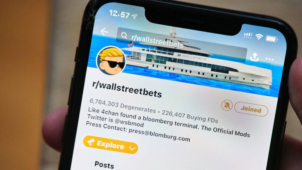 WallStreetBets Reddit