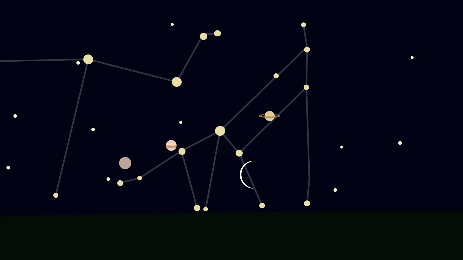 Cette nuit, tentez de voir la belle rencontre de la Lune et trois planètes - Numerama