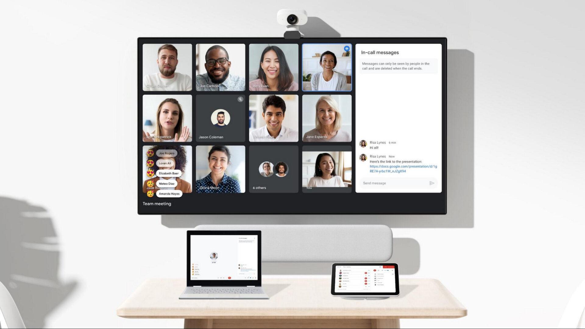 Google met fin aux « appels illimités » en visio de groupe sur Meet