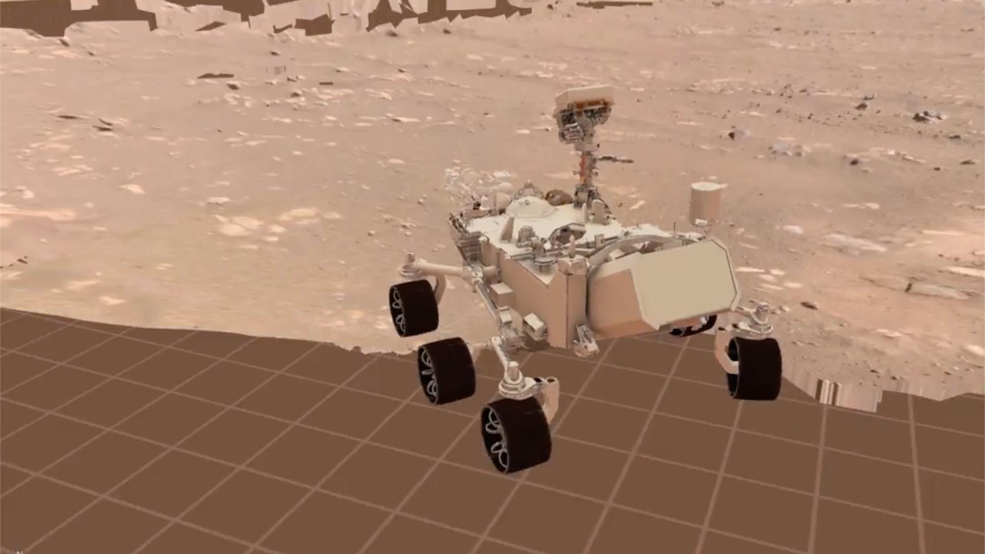 Perseverance a roulé sur Mars : à quoi ressemble son premier trajet ? - Numerama