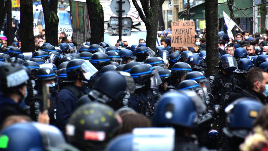 police gendarmerie crs