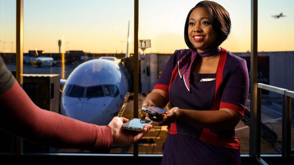 smartphone avion voyage