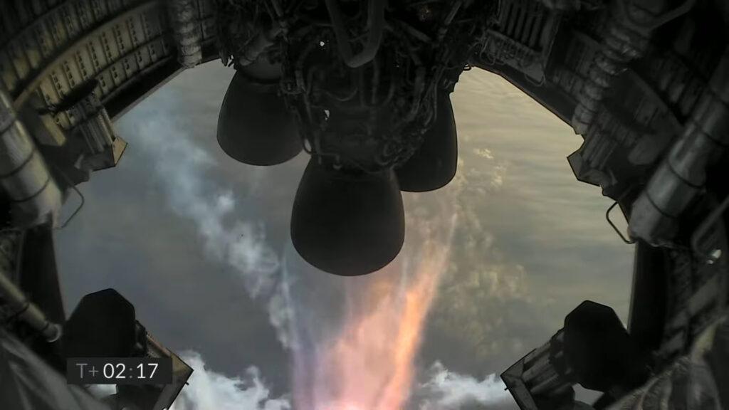 SN11 Starship coupure moteur