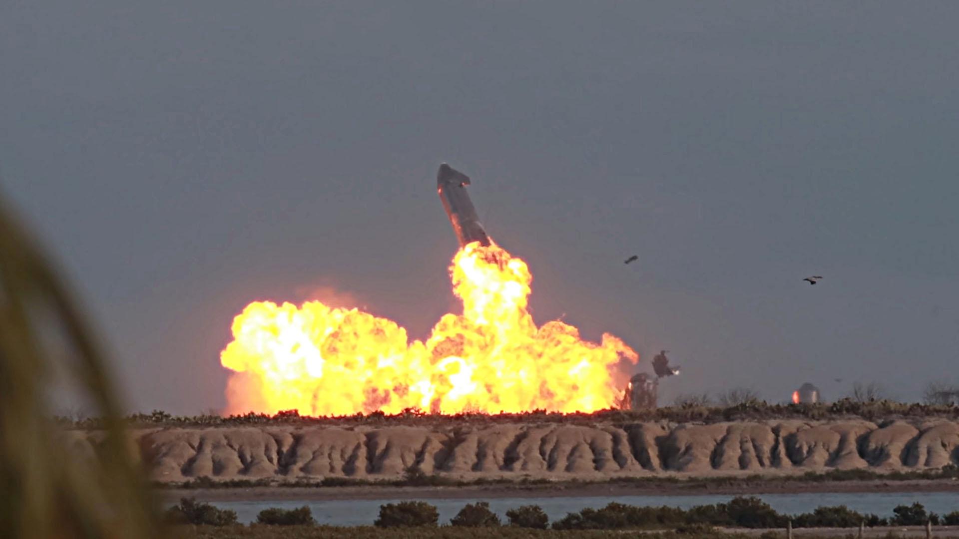 SpaceX Starship SN10 : qu'est-ce qui a pu provoquer l'explosion après l'atterrissage ? - Numerama