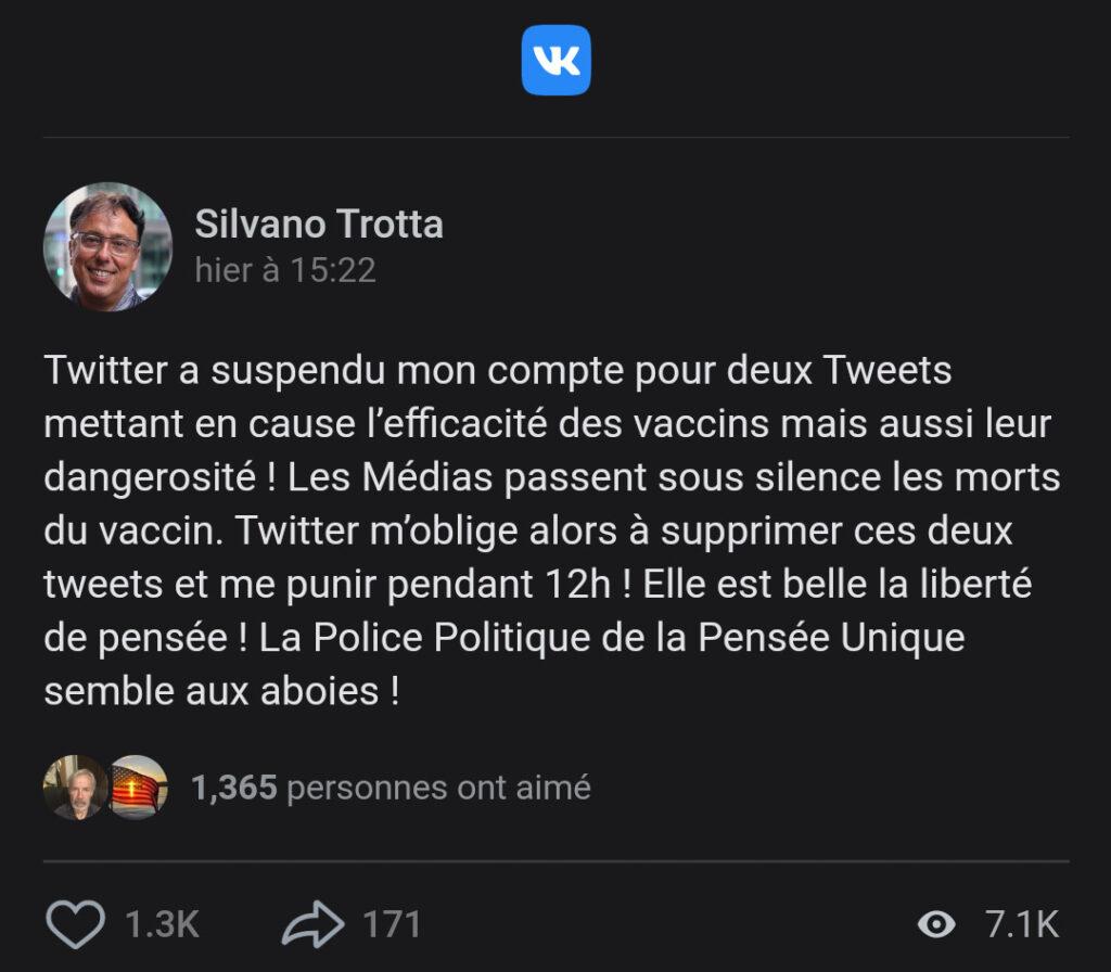 Trotta Twitter