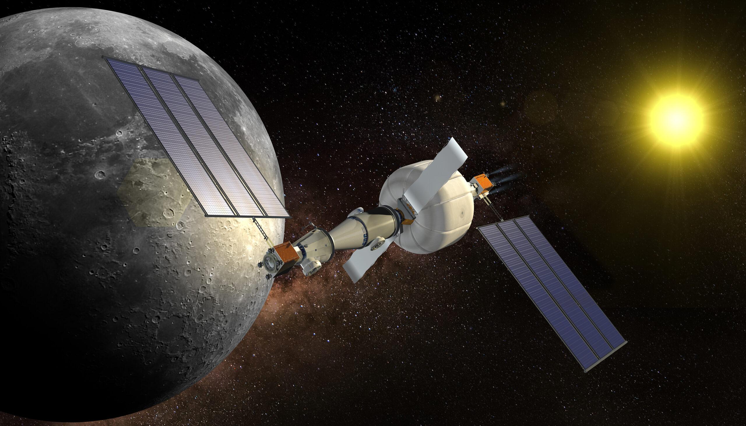 Pourquoi les stations spatiales gonflables intéressent beaucoup la NASA