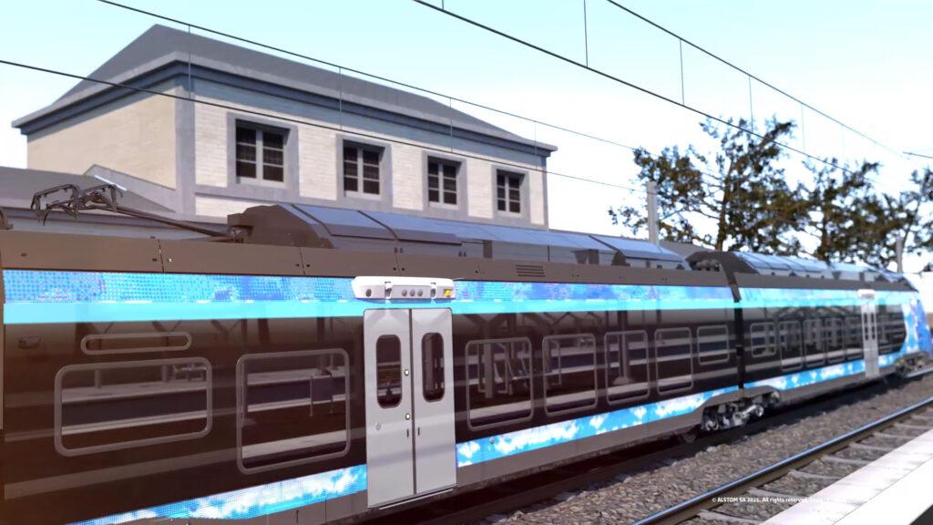 Alstrom train hydrogène Coradia